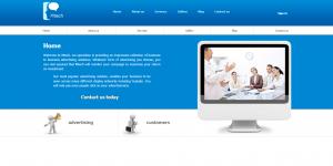 Web design for Mtec